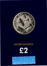 £2 Spitfire 1918-2018 Anniversary of the RAF Coin. BUNC & Certified