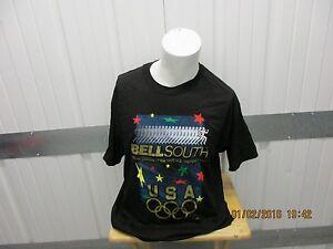 VINTAGE HANES HEAVYWEIGHT 1996 OLYMPICS / BELLSOUTH  XL 100% COTTON T-SHIRT