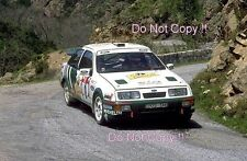 Didier Auriol Ford Sierra RS Cosworth Tour De Corse Rally 1988 Photograph 1