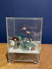 More details for vintage retro kitsch japan musical box diorama toadstool ladybird
