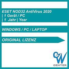 ESET nod32 antivirus 2020 1 dispositivo 1 anno, ESD licenza, Download, CD-Key de NUOVO