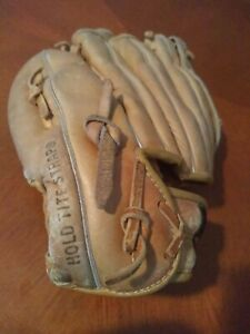 Vtg Wilson Baseball Glove George Brett RHT A2144 Right Handed Leather 80's ~4~