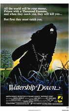WATERSHIP DOWN Movie POSTER 11x17 Richard Briers Ralph Richardson Zero Mostel