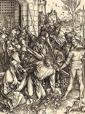 POSTAGE STAMP SPAIN 5 PESETAS JESUS CHRIST CROSS CRUCIFIXION PRINT BMP10231