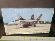 """Hasegawa F/A-18E Super Hornet """"VFA-31 Tomcatters 75th Special"""" 1:72 Scale sealed"""