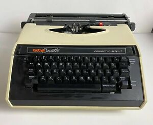 Brother Cassette Correct-O-Riter I 4712 Portable Electric Typewriter Vintage