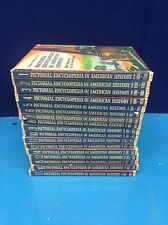Pictorial Encyclopedia of American History 1450-1968 Complete 17 Volume Set GDZ6