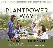The Plantpower Way : Whole Food Plant-Based Recipes FREE SHIP WITH BIN