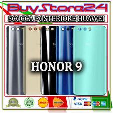 BACK COVER VETRO SCOCCA POSTERIORE HUAWEI HONOR 9 STF-L09 + ADESIVO
