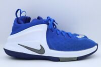 Nike Zoom Witness LeBron James Youth Size 6.5Y Basketball Shoes Blue 860272-400