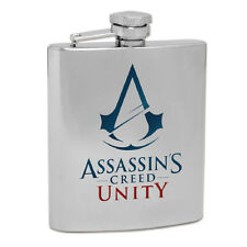 ASSASSINS CREED UNITY Spirit Hip Flask Man Cave Christmas Birthday Fathers Gift