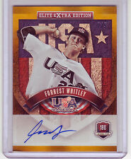 FORREST WHITLEY 2015 Elite Extra Edition USA GOLD #'d 2/5 RARE AUTO ASTROS HOT