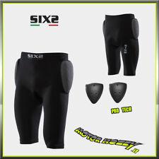 PANTALONCINI SIX2 PRO SHO2 CON FONDELLO E PROTEZIONI FIANCHI  TG. L - XL NERO
