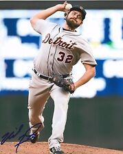 Michael Fulmer Signed Detroit Tigers MLB Debut 8x10 Photo