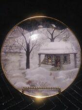 """Moonlight Visitors"" Collectors Plate By Carol J. Endres - Franklin Mint"