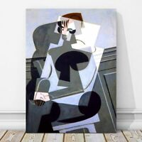 """JUAN GRIS Art - Portrait of Josette CANVAS PRINT 12x8"""" - Cubist, Cubism"""