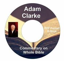 Adam Clarke's Commentary on Whole Bible CD Ebook PDF-Kindle-iPhone Compatible