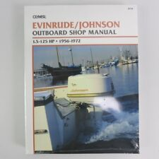 Clymer Evinrude johnson manual 1.5-125 PS 1956-1972 b734 inglés