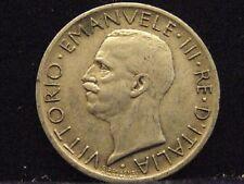 Italia 5 lire, 1927 Re Vittorio Emanuele III ARGENTO% 835 nr238