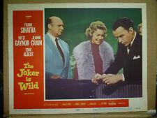 THE JOKER IS WILD, orig 1957 LC #1 (Frank Sinatra, Mitzi Gaynor)