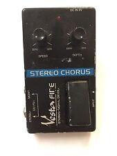 Vesta Fire Stereo Analog Chorus Rare Vintage Guitar Effect Pedal MIJ Japan
