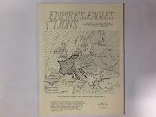 Gli imperi Eagles & LEONI NUMERO 113-Fonte NAPOLEONICO RIVISTA MILITARE/Giochi Di Guerra