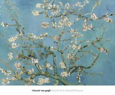 Almond Blossom, 1890 by Vincent van Gogh Art Print Floral Museum Poster 20x24