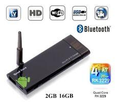 CX919 Android 7.1 Mini PC Box TV Stick Quad Core 2G/16GB Bluetooth 1080P HD KY