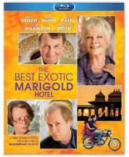The Best Exotic Marigold Hotel (Blu-ray Disc, 2012) Judi Dench Maggie Smith NEW