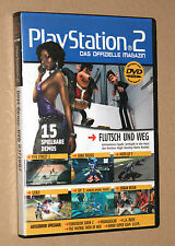 PS 2 Offizielle Magazin Demo DVD Sonic Riders Genji Urban Reign FIFA etc 02/2007