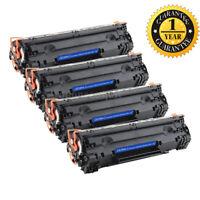 4PK CE285A 85A Toner Cartridge Compatible For HP LaserJet P1102w M1132 M1217nfw