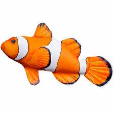 Gaby Pillow Cushion *MINI CLOWNFISH (Nemo) * 30cm long * Novelty Fish Gift *