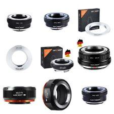 K&f concept adaptador from m42 lens to Fuji X, Nik Z, Nex, m4/3, eos Nikon F, L/M