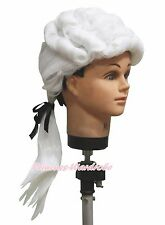 Occuptional White Lawyer Braid Wig Hair Kids Baby Unisex Dress Up Costume Prop