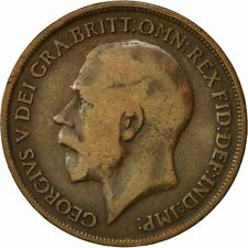 [#541045] Coin, Great Britain, George V, Penny, 1915, VF(20-25), Bronze, KM:810