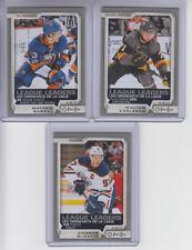 18/19 OPC Edmonton Oilers Connor McDavid League Leaders Silver card #595 - SP