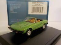 Triumph TR7 - Green. 1/76 Oxford Diecast 76TR7001