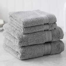 Charisma Soft 100% Hygro Cotton 2 Hand & 2 Washcloth Towel Set ( GRAY)