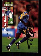 Pablo Thiam 1 FC Köln Panini Card 1997 Original Signiert +A99098