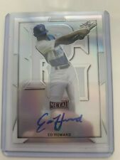 ED HOWARD 2019 Leaf Perfect Game Metal AUTO autograph  BA-EH1