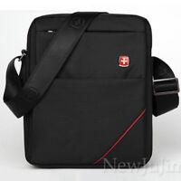 """NEW Men Women's Waterproof Messenger Shoulder Swiss Bags Satchel Handbag 10"""" Bag"""