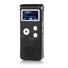 8GB Digital Audio Voice Recorder 650HR Dictaphone MP3 FM Player Multifunctional