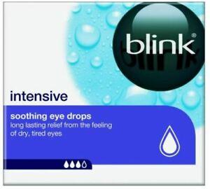 Blink Intensive Soothing Eye Drops 20 x 0.4ml Vials