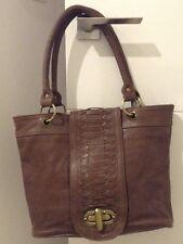 ladies BRAND NEW Brown Genuine leather hand bag very good quality Stylish