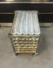 CHICAGO METALLIC Baguette or French Bread Baking Pans and Mobile Bread Rack/Cart