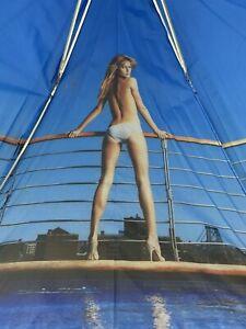 Gisele Bundchen Victoria's Secret Umbrella Rare Tom Brady