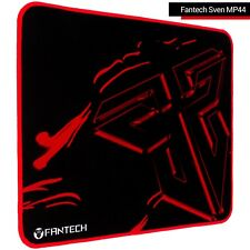 Gaming Mouse Pad Stitched Edges Non-Slip Rubber Base Fantech Sven MP44 Black-Red