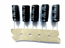 1000uF 25v 105c basso ESR 10mm SLIMLINE lunga vita Panasonic EEUFR1E102 x5pcs