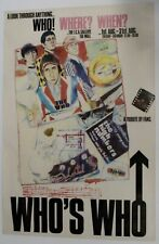 More details for the who original ica exhibition poster 1978