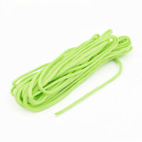 Outdoor Camping Hiking Survival Cord Safety Rope String Yellow Green 7M Length